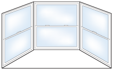 Shapes and Styles of Replacement  Windows - Alcor Home Improvement of West Michigan - Bay