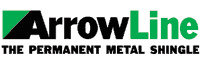 Lifetime Metal Shake Roofing by Alcor Home Improvement - logo_arrowline
